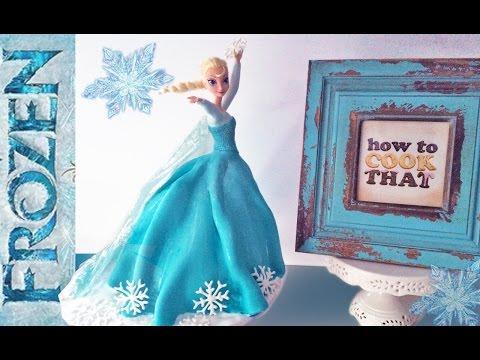 """Детский торт """"Холодное сердце"""" на день рождение"""
