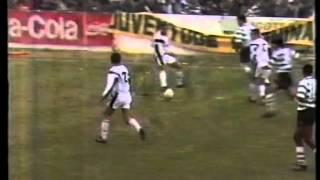 Farense - 0 Sporting - 1 de 1990/1991