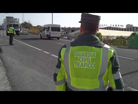 Control Guardia Civil Tráfico.