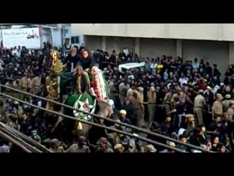 ASHURA IN INDIA HYDERABAD (BIBI KA ALAM)