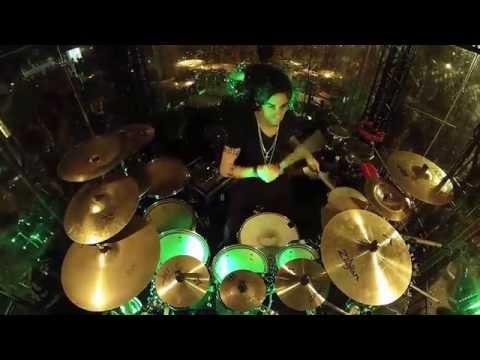 Rodrigo Skill On Drums Melhores Momentos 24/08/2014 Chapecó-SC