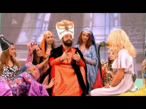 Περούκες Άγγελος - Ο Μάρκος Σεφερλής ως Σουλεϊ μαρκ, ο μεγαλοπρεπής στην Ελένη