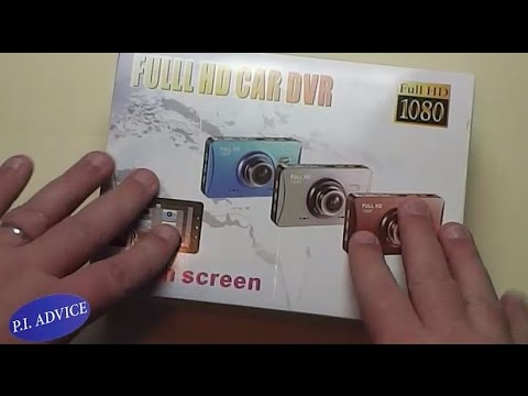 "GT500 Dash Camera WDR HD 1080 3""TFT LCD Review"