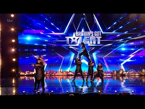 Britain's Got Talent 2017 Allin Dance Crew Full Audition S11E06