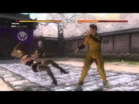 DOA5U RACHEL vs JANN LEE 2014-04-20