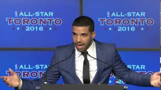Drake Introduced As Raptors