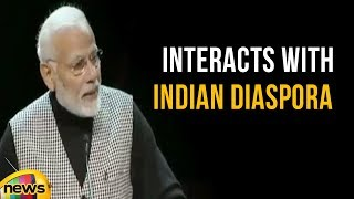 PM Modi Interacts With Indian Diaspora In Stockholm University | Mango News - MANGONEWS