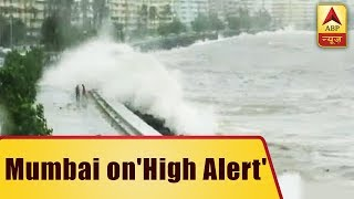 Mumbai: High tides of at least 5 metres witnessed - ABPNEWSTV
