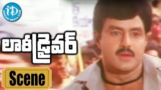 Lorry Driver Movie Scenes - Balakrishna Fires On Jagga Rao || Vijayashanti || B Gopal - IDREAMMOVIES