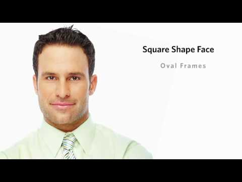 Square Face Shape - Male