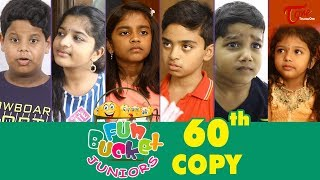 Fun Bucket JUNIORS | Episode 60 | Kids Funny Videos | Comedy Web Series | By Sai Teja - TeluguOne - TELUGUONE