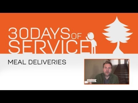 30 Days of Service by Brad Jamison: Day 11 - Meal Deliveries