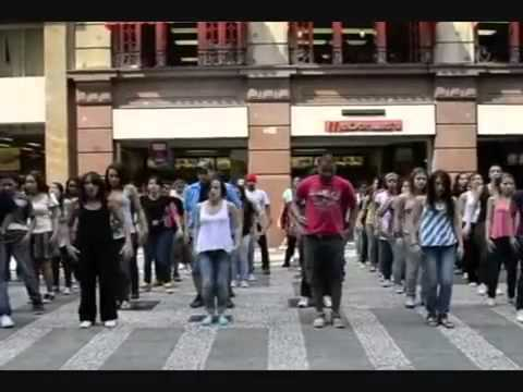 FLASH MOB GOSPEL OFICIAL 2011   YouTube