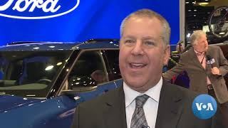 Sedans Take Backseat to SUV's, Trucks at 2019 Chicago Auto Show - VOAVIDEO