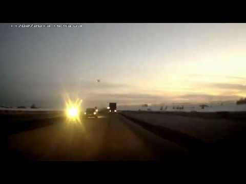Полет болида в Башкирии