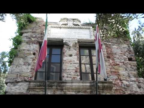 Casa di Cristoforo Colombo, The house of Christopher Columbus, Genoa, Liguria, Italy, Europe