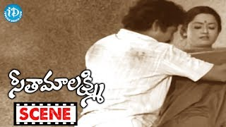 Seetha Mahalakshmi Movie Scenes - Chandra Mohan Gifts Saree To Rameshwari || Chandra Mohan - IDREAMMOVIES