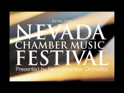 Nevada Chamber Music Festival 2009 commercial.