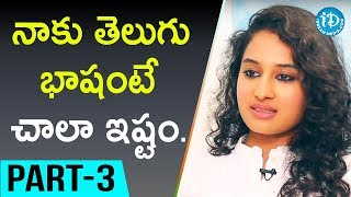 Actress Pooja Ramachandran Interview Part #3 || Talking Movies With iDream - IDREAMMOVIES