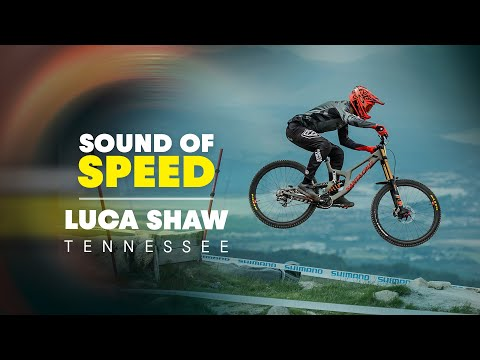 Raw and Wide Open Downhill MTB w/ Luca Shaw | Sound of Speed