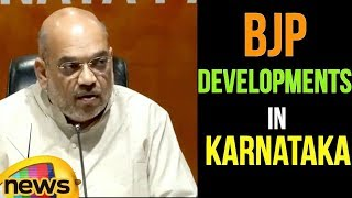 Amit Shah Press Conference at BJP Central Office | Mango News - MANGONEWS