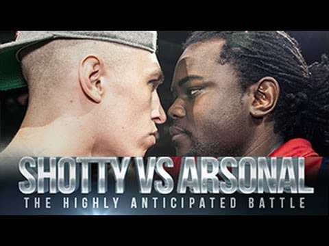 DON'T FLOP - Rap Battle - Shotty Horroh Vs Arsonal