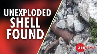 A 120 MM unexploded shell found near Amarnath Yatra route - ZEENEWS