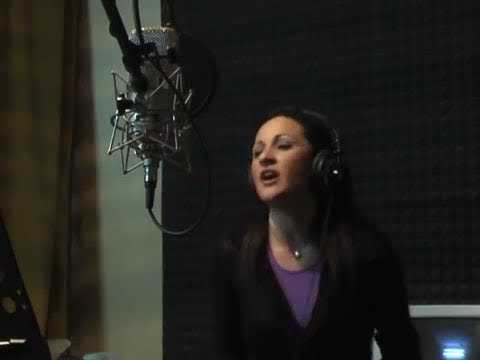 Katia Croce' - KC Project - Movin' On Up - Registrazione In Studio
