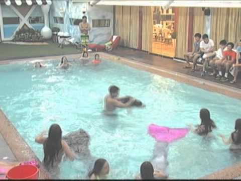 Aina at girl housemates, nag-swimming ala Dyesebel