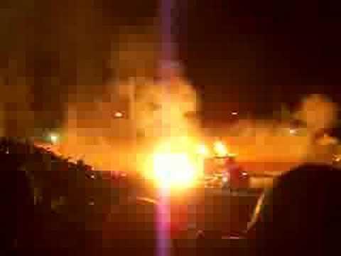 Night of Fire - Jet Cars Drag Race - Semi Truck