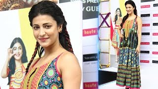 Shruti Haasan Sizzles The Ramp For 'HAUTE CURRY' - LEHRENTELUGU