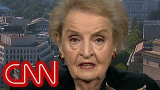 Madeleine Albright on Putin summit: I am worrying more - CNN