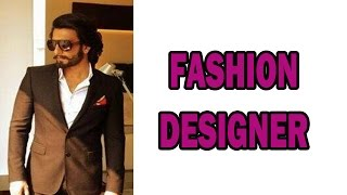 Ranveer Singh turns Fashion Designer! | Bollywood News