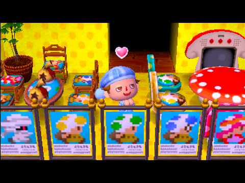 Dream Diary - Meeting Captain Toad! | Animal Crossing: New Leaf
