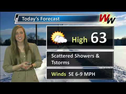 Wednesday 3/12/14 AM Forecast