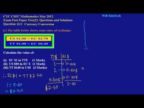 free cxc math past paper