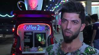 Enterprising Iraqi Runs Mobile Coffee Shop to Make Ends Meet - VOAVIDEO