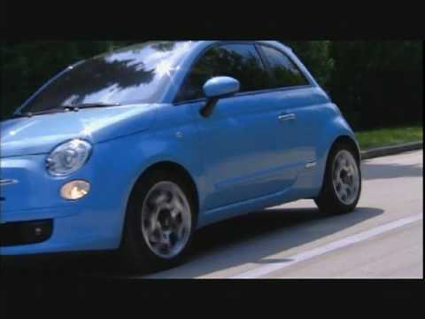 Fiat 500 with TwinAir 85 HP two-cylinder engine