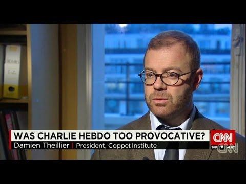 Damien Theillier sur Charlie Hebdo