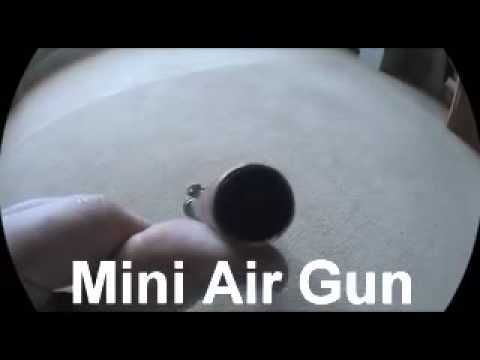 Mini Homemade air rifle copper