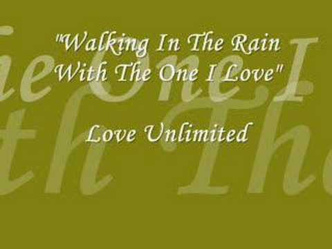 Walking In The Rain With The One I Love Lyrics
