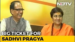 BJP Fields Malegaon Accused Sadhvi Pragya vs Digvijaya Singh In Bhopal - NDTV