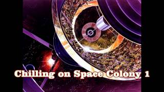 Royalty Free :Chilling on Space Colony 1