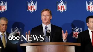 New NFL mandate requiring players to stand for national anthem sparks debate - ABCNEWS