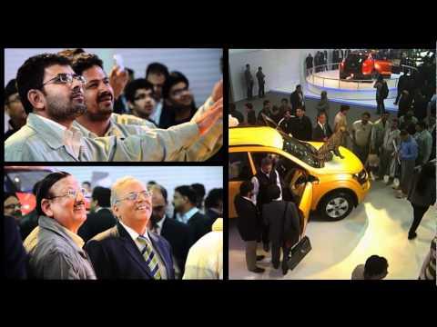 Mahindra XUV500 Live Augmented Reality at the Auto Expo 2012