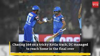 RR upset Mumbai, DC earn crucial win over KXIP - INDIATIMES