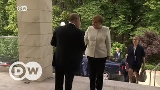 Merkel-Putin meeting: Tough talks expected | DW English - DEUTSCHEWELLEENGLISH