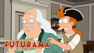FUTURAMA | Season 8, Episode 7: A Colonial Adventure | SYFY - SYFY