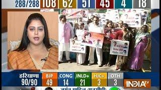 Maharashtra, Haryana Assembly polls: Counting of votes with Rajat Sharma- Part 6 - INDIATV