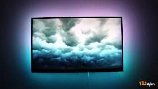 Презентация фоновой подсветки телевизора PaintPack